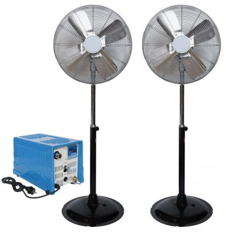 Ventilateur brumisateur Haute Pression x2