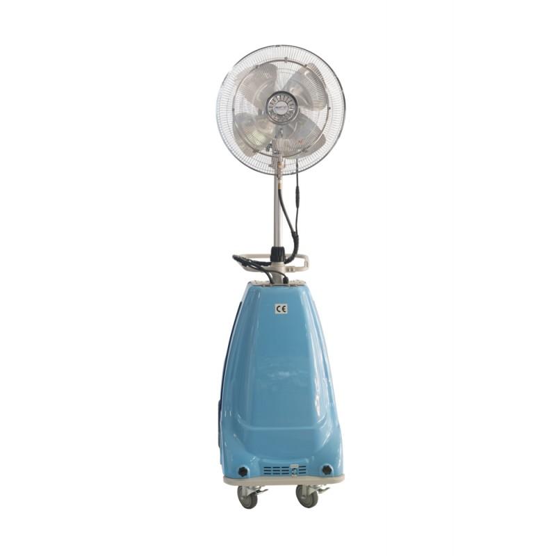 Ventilateur brumisateur autonome haute pression for Ventilateur exterieur